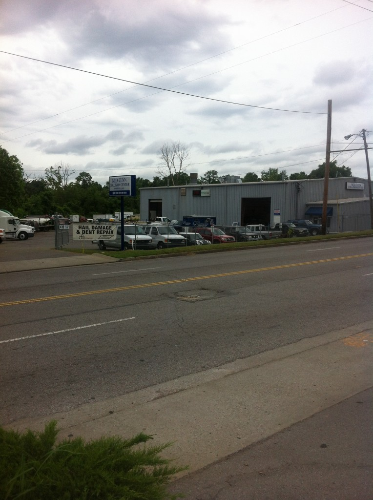 Street view of our facility